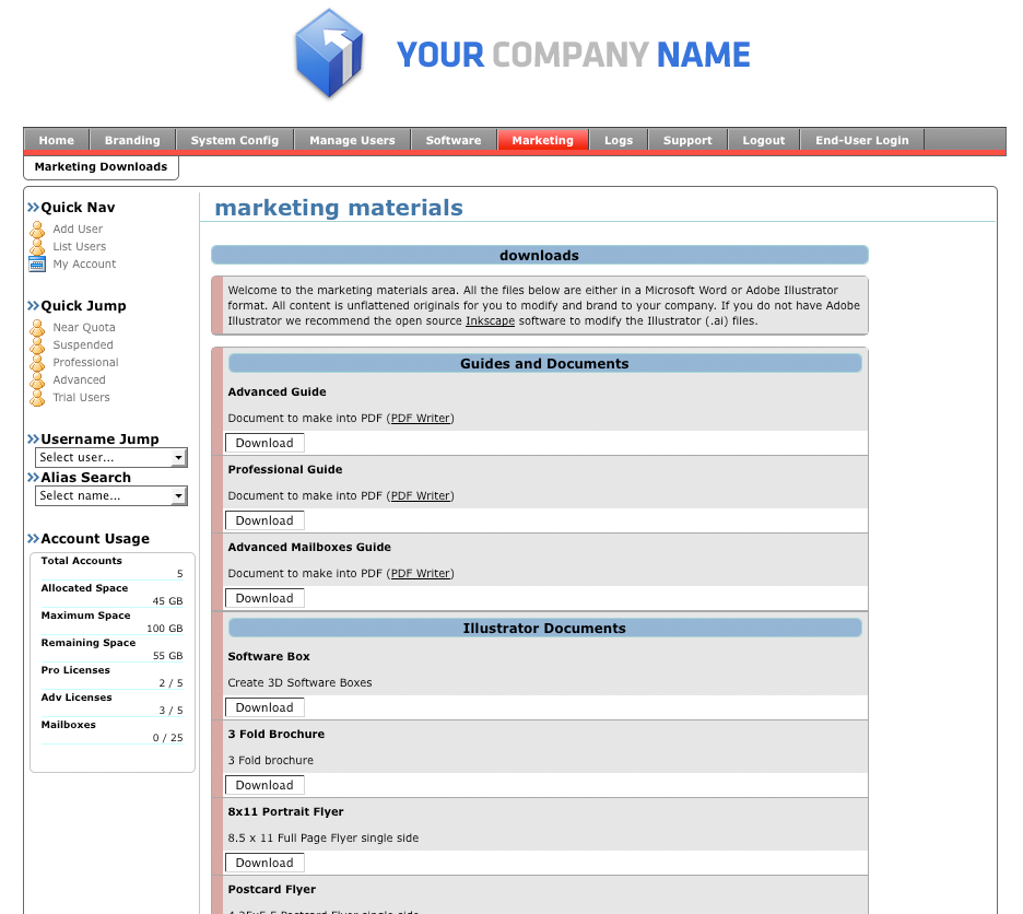marketing and control panel Marketing tools in shared website hosting since all tools are part of the hepsia control panel, you will be able to use them with each of the shared website hosting plans that we offer.